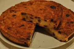 614 kcal. Gâteau pain