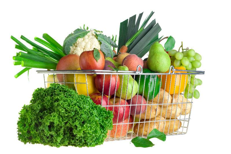 panier légumes, primeurs