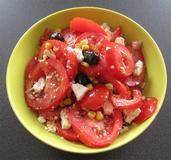 369 kcal. Salade de tomate au thon