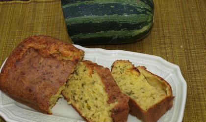 Cake courgette et parmesan