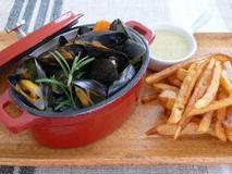 819 kcal. Moules marinières sauce au roquefort