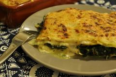 490 kcal. Lasagne au Saumon et aux épinards
