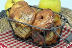 344 kcal. Beignets aux pommes