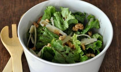 Salade composée : Noix et Parmesan