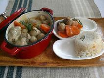 372 kcal. Blanquette de Veau