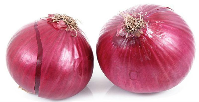 Calories Oignon rouge : 33 kcal, ig et apports nutritionnels