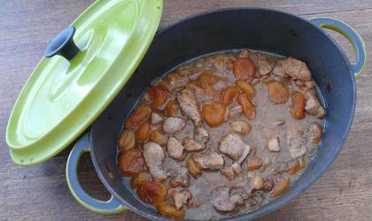 Porc aux abricots