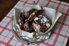 260 kcal. Petits sablés au chocolat et noix de Pécan