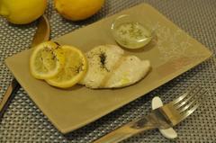 95 kcal. Papillotes de Merlu au citron