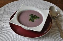 165 kcal. Velouté de Chou Rouge