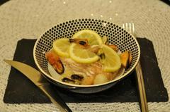 381 kcal. Papillote de saumon aux crustacés