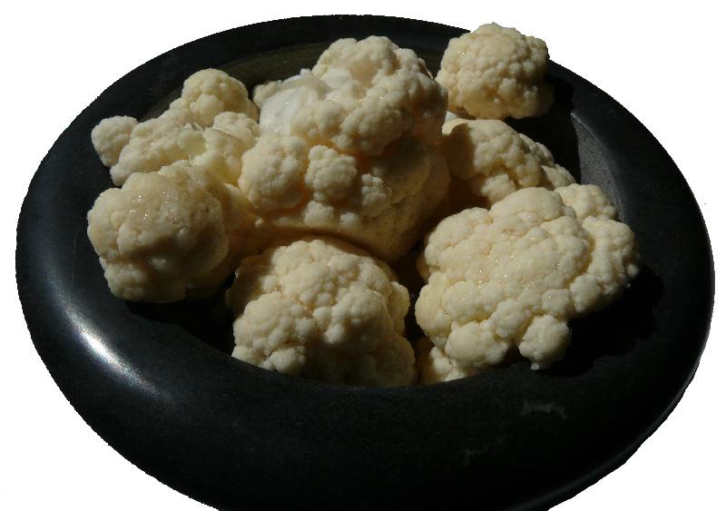 Calories Choux fleur : 14 kcal, ig et apports nutritionnels