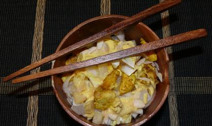 Salade indienne aux d'endives
