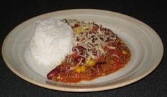 411 kcal. Chili con carne (express)