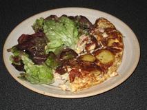 701 kcal. Omelette paysanne