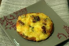 306 kcal. Mini-pizza au roquefort et aux noix