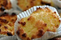 252 kcal. Congolais - Mini gâteaux à la noix de coco