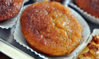 Muffins à la carotte et à l'orange