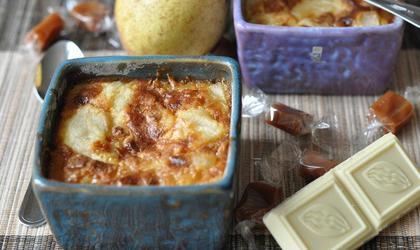 Clafoutis poire - caramel
