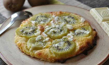 Tartelette kiwi - chocolat blanc