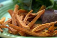 216 kcal. Frites de patates douces