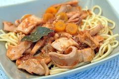 223 kcal. Calamars à la provençale