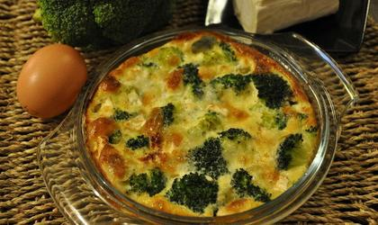 Gratin : Brocolis/ Gorgonzola
