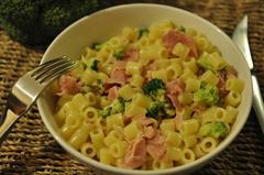 456 kcal. Pâtes aux brocolis et jambon