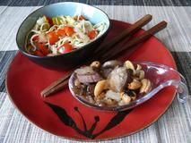 230 kcal. Nouilles chinoise sautées aux légumes