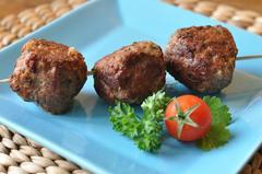 296 kcal. Brochettes d'agneau à la grecque