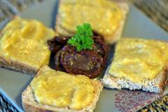 58 kcal. Caviar de Courgettes
