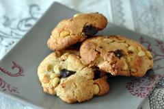 563 kcal. Cookies chocolat et pignons de pin
