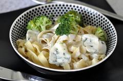 487 kcal. Pates au brocoli et Gorgonzola