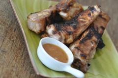 1015 kcal. Travers de porc à la plancha sauce américaine