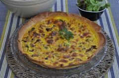 321 kcal. Quiche aux fruits de mer