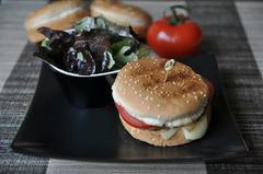 428 kcal. Hamburger maison