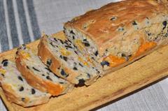 375 kcal. Cake olives noires - mimolette