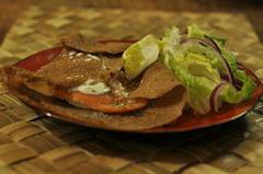 355 kcal. Galette au saumon