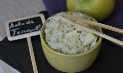 Salade de Fenouil et Pommes