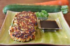 130 kcal. Galette de crabe façon Thaï