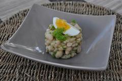 174 kcal. Salade de Haricots blancs à l'huile