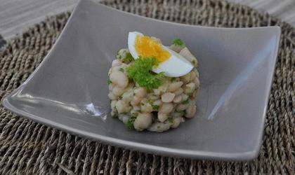 Salade de Haricots blancs à l'huile