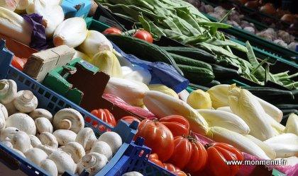 Fraicheurs de légumes