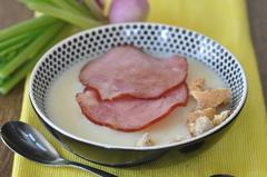 193 kcal. Velouté de navet au bacon et croutons