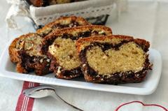 227 kcal. Cake Marbré vanille chocolat