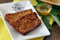197 kcal. Cake aux figues et au miel