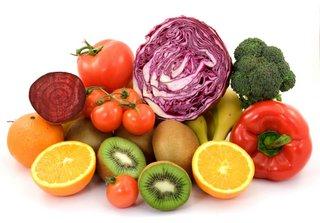 fruits et légumes a IG faible