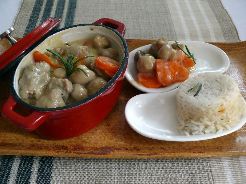 recette blanquette de veau. Black Bedroom Furniture Sets. Home Design Ideas