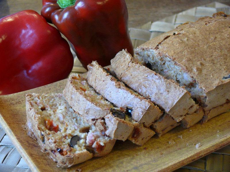 Cake aux olives et au son d'avoine