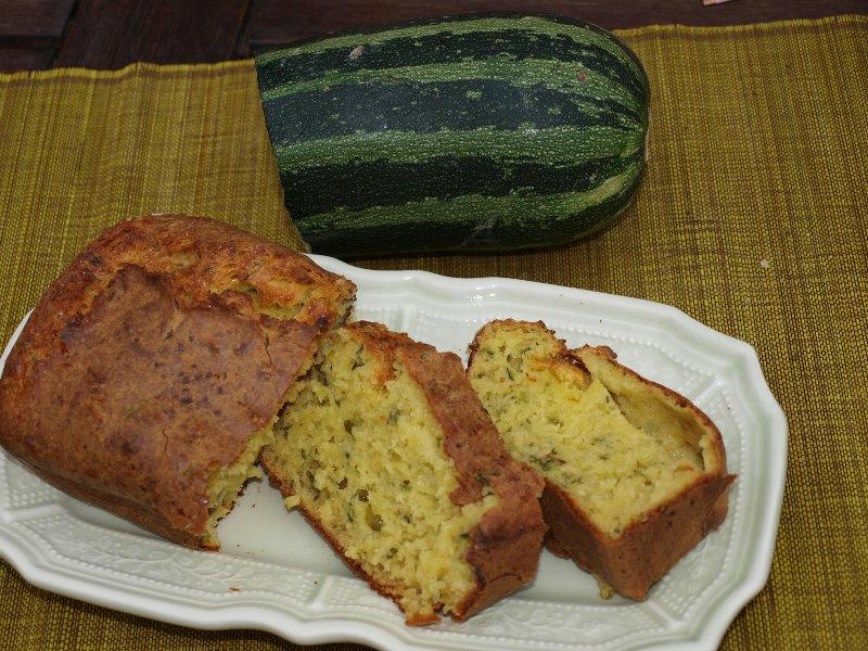 Cake Courgettes Menthe Avec  Oeuf